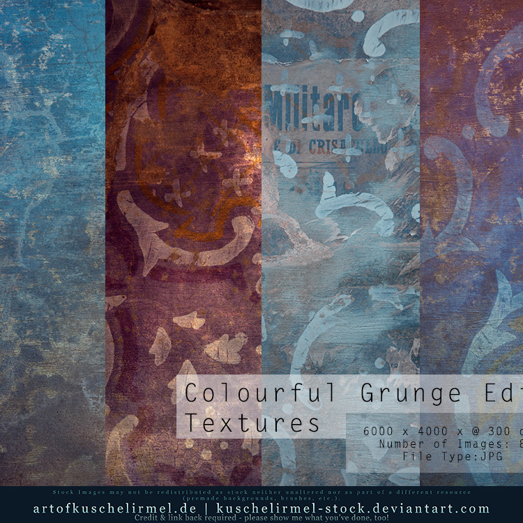 Colourful Grunge Edits Cover